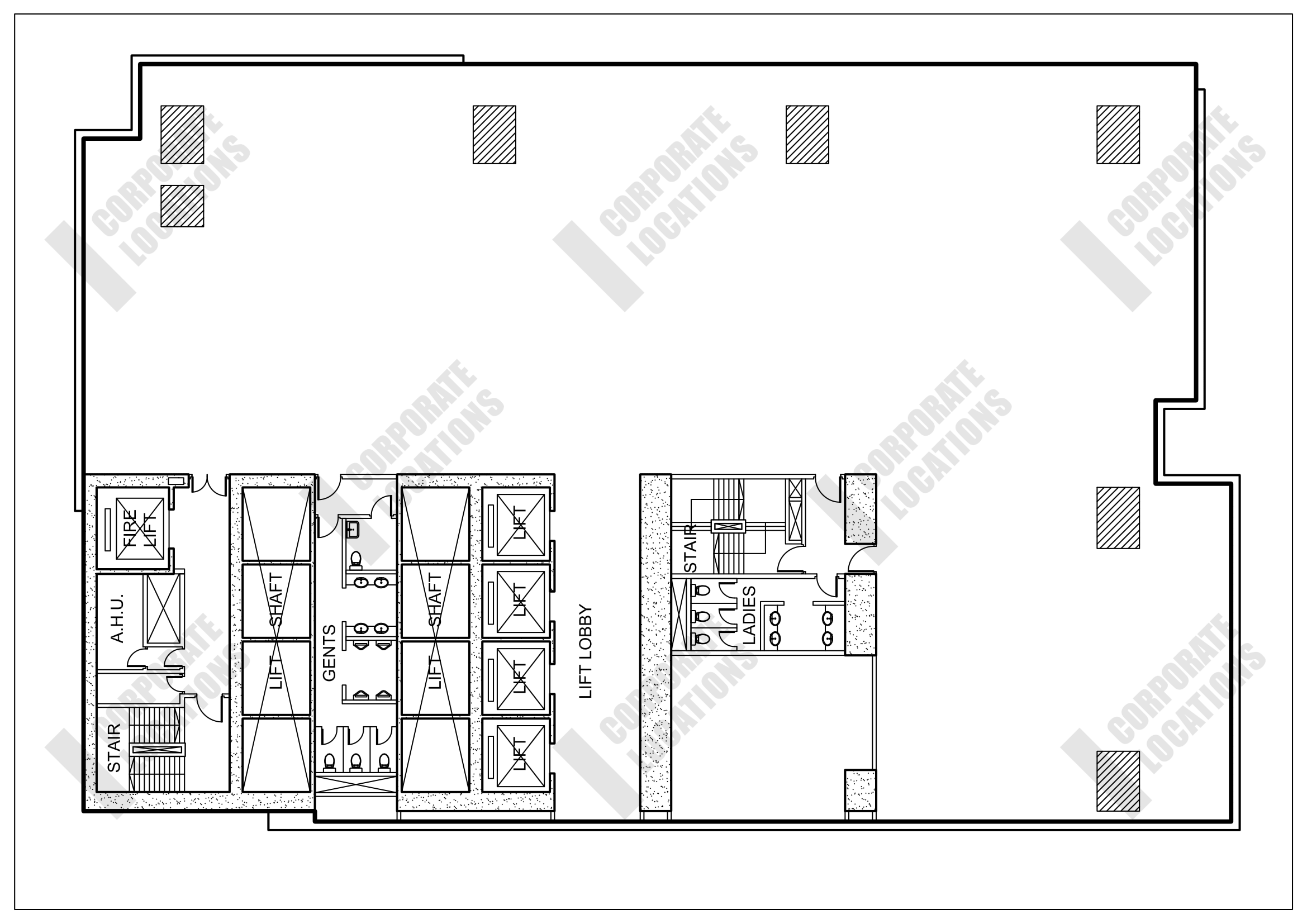 Floorplan Oxford House, Taikoo Place