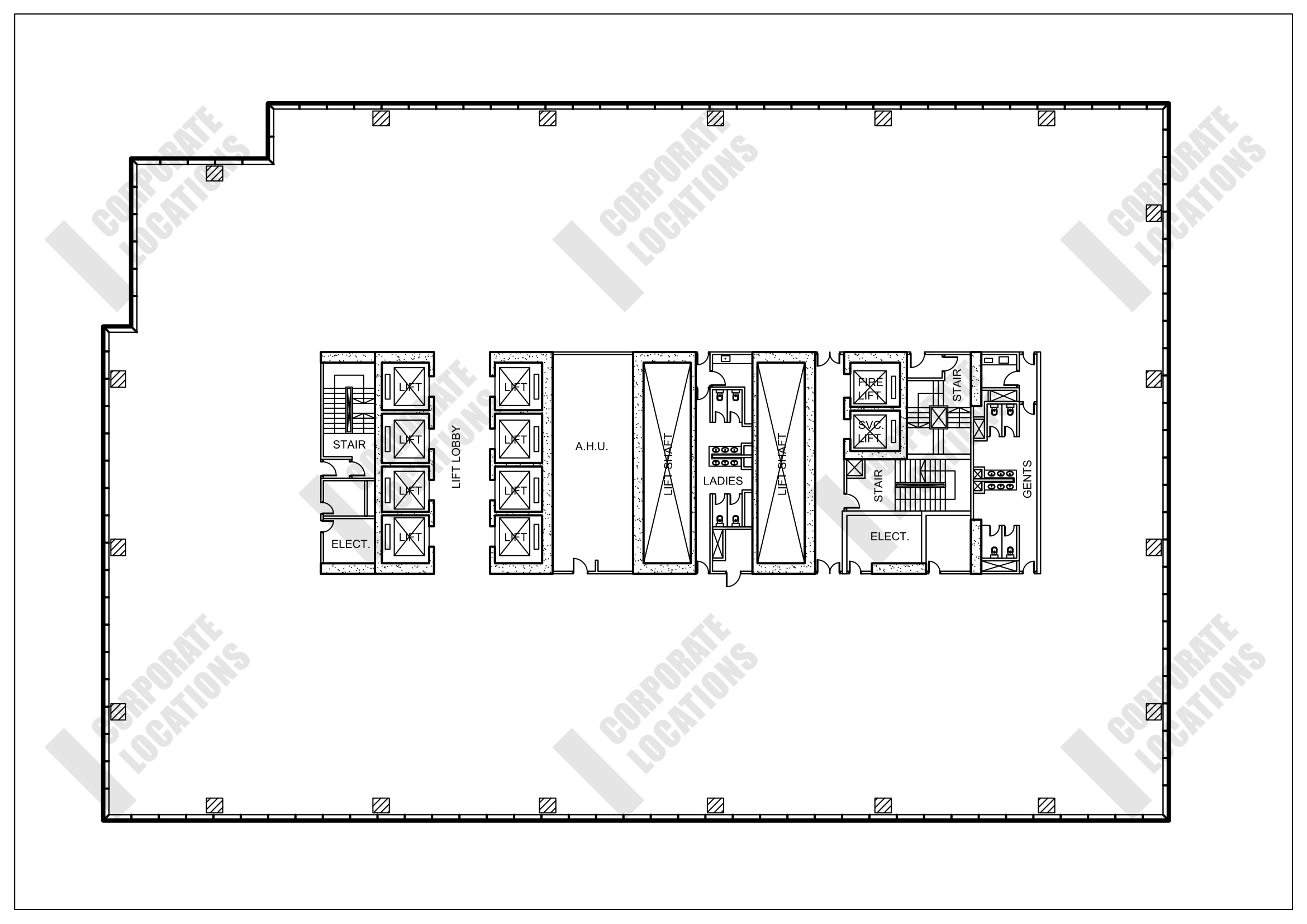Floorplan Chater House