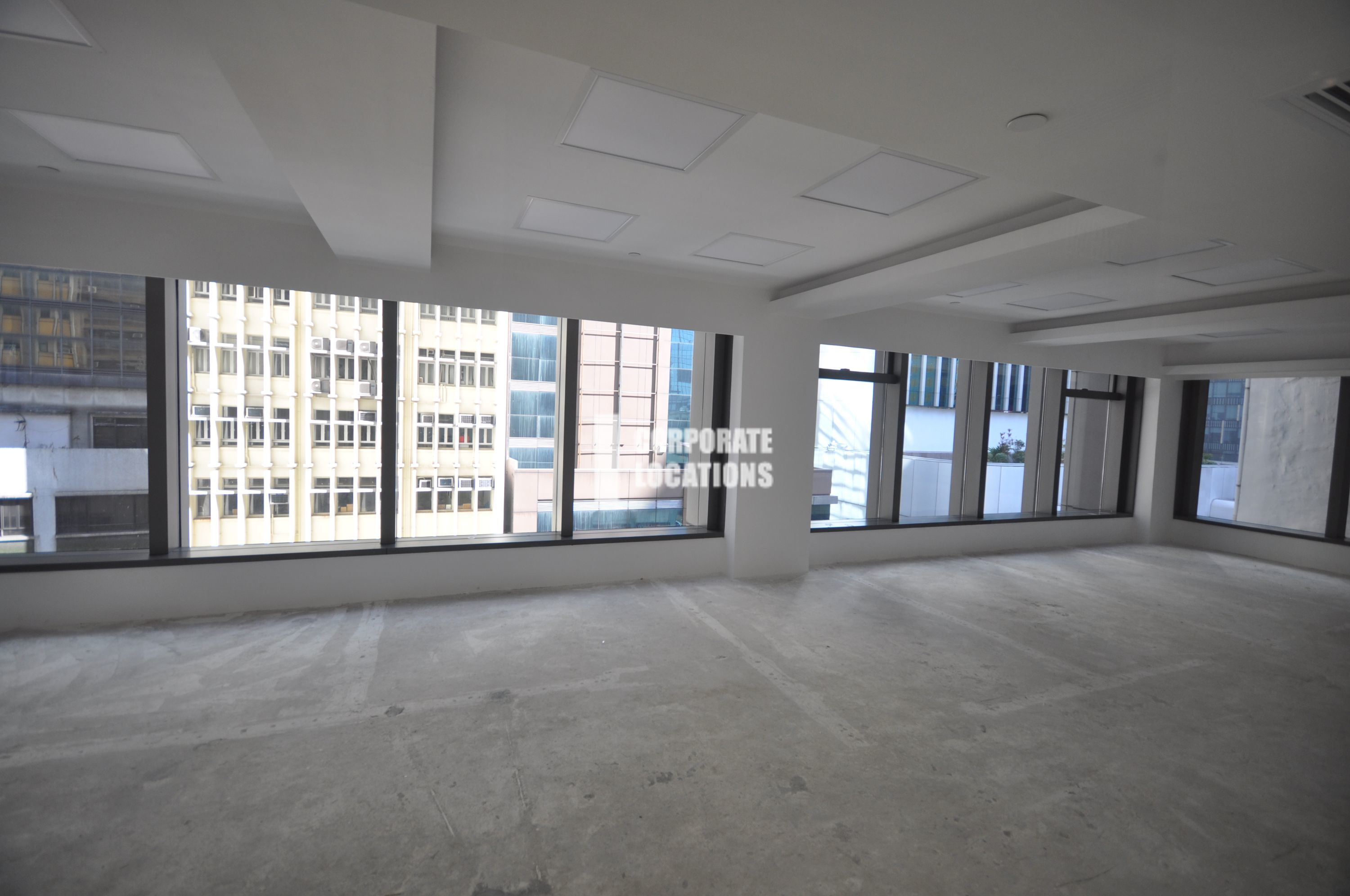 Typical Interior Commercial space in Central 88 - Central