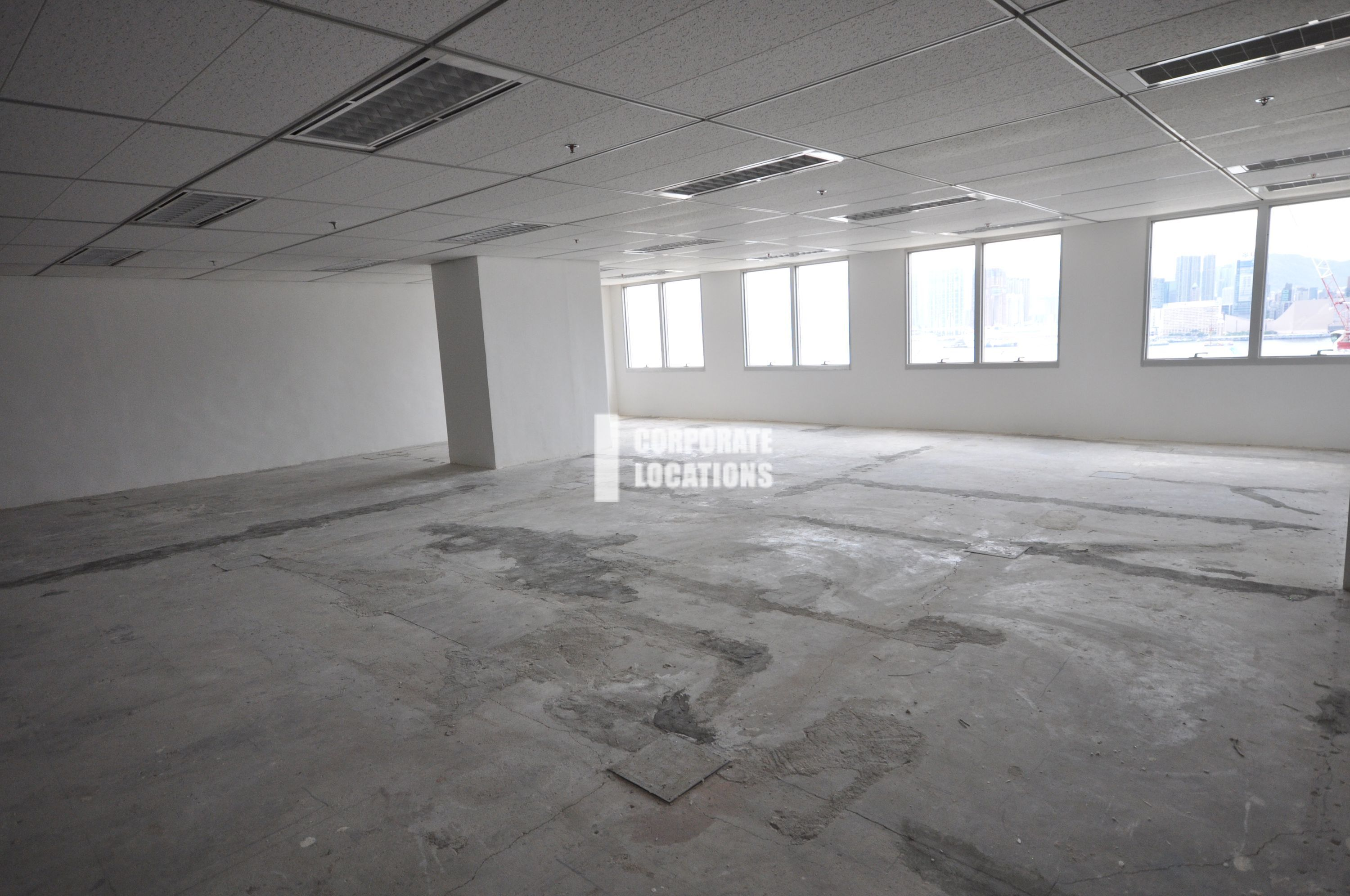 Typical Interior Commercial space in Harcourt House - Wan Chai